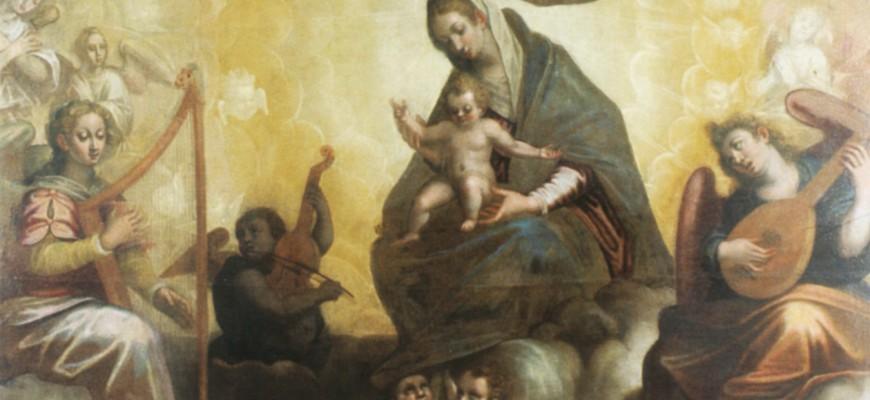 Vergine col Bambino e Angeli musicanti