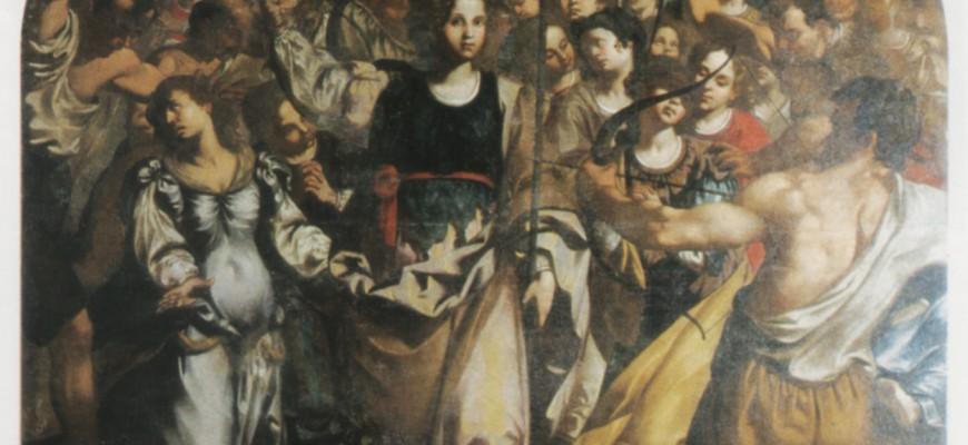 Martirio di S. Orsola e delle compagne